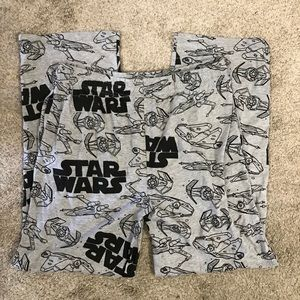 NWOT Star Wars Pajama Pants Pockets & Button Fly